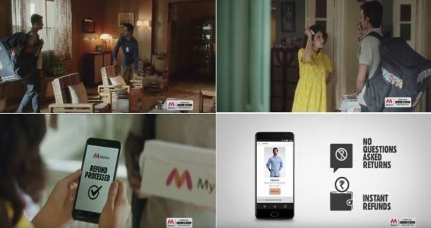 Myntra woos customers with hassle free returns, instant refunds in its ad campaign